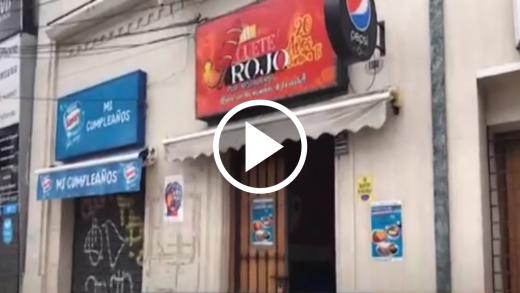 """Pub """"il Cuete Rojo"""" fue víctima de robo en el centro de Talca"""