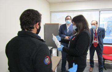 Dirección del Trabajo fiscalizó a tres bancos en Talca para verificar sus medidas preventivas ante Covid-19