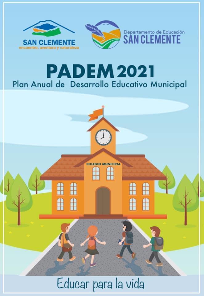 A paso firme avanza trabajo de elaboración del plan de desarrollo educativo municipal (PADEM) 2021 en San Clemente