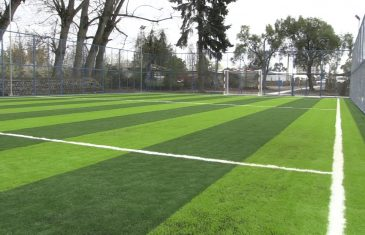 Localidad de Maule Sur en Colbún cuenta con nueva cancha de futbolito