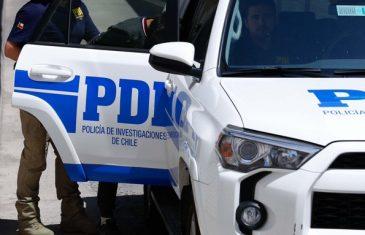 PDI Curicó detiene a sujeto por homicidio con arma cortante ocurrido en el sector el óvalo de la Alameda