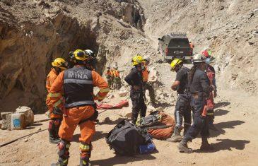 Biministro Jobet agradece labor de equipo que rescató con vida a mineros atrapados en Tierra Amarilla