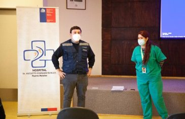Dr. Andrés Lagos contó su experiencia de apoyo en Magallanes para enfrentar la Pandemia
