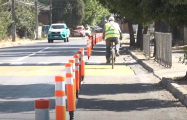 Municipio habilita los primeros 5,5 kilómetros de ciclovías en Linares.