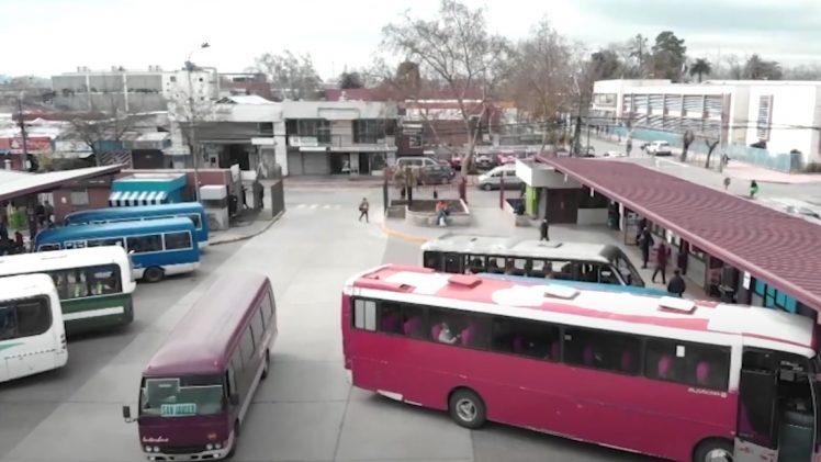 Terminal de buses de Talca se ajusta a nueva medida sanitaria tras conocerse que la comuna entrará en confinamiento al retroceder a fase 1 del plan paso a paso del gobierno