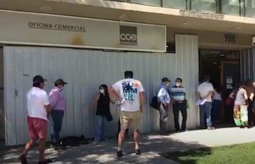 Anuncia cierre de oficinas comerciales partir de este lunes por estado de cuarentena.