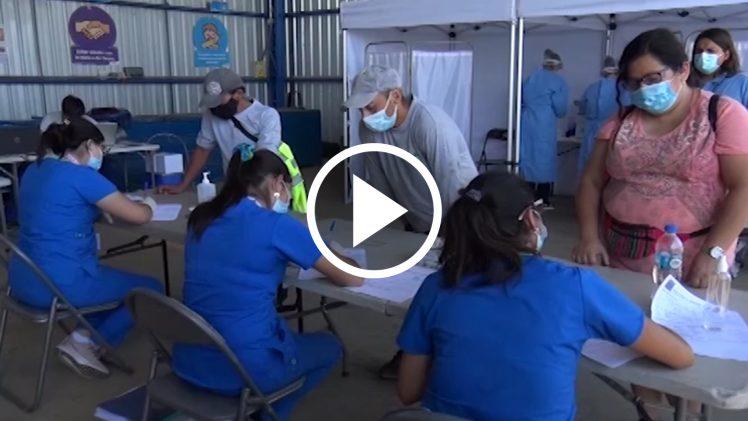 Autoridades regionales continúan en la búsqueda activa de casos COVID-19, en esta oportunidad fueron testeados los trabajadores de recolección de residuos domiciliarios de Talca