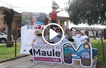 """Condorito y Río Claro se sumaron al proyecto """"Descubre el Maule"""", con el objeto de potenciar la zona y el turismo"""