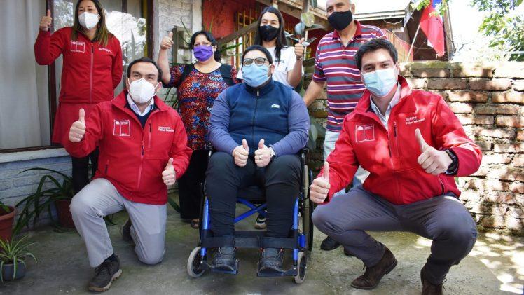 58 estudiantes maulinos con discapacidad que fueron beneficiados con el Plan de Apoyos Adicionales de Senadis
